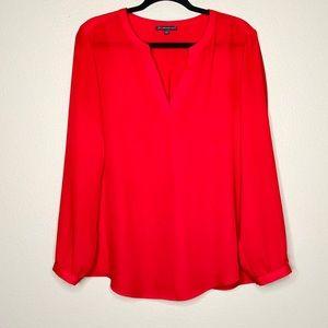 Adrianna Papell v-neck blouse